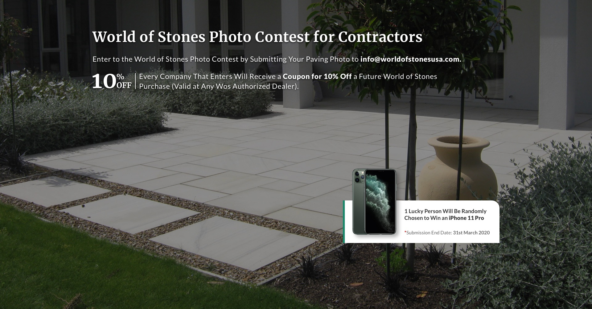 Photo Contest for contractors